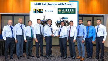 HNB partners with ANSEN for offers on POWERTRAC Tractors & MUBOTA Combine Harvesters