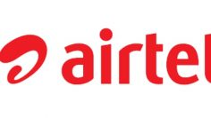 Airtel logo red text horizontal