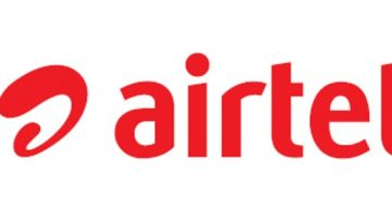 Airtel logo red text horizontal