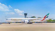 Emirates-Boeing-777-300ER-at-BIA
